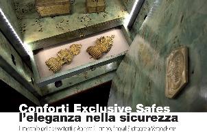 EXCLUSIVE SAFES – L'eleganza nella sicurezza