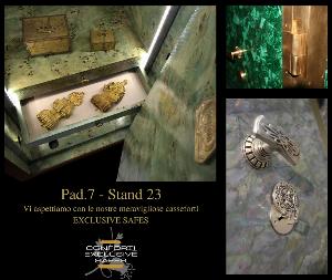 EXCLUSIVE SAFES in esposizione a Fiera Cavalli Verona – PAD.7 – Stand 23
